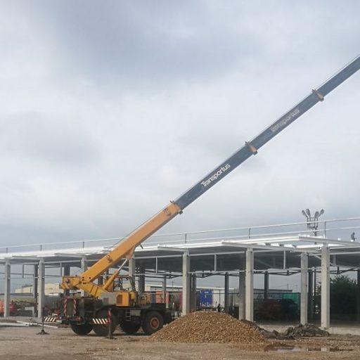 """Започна строителството на """"Билла Парк"""" в гр.Костинброд"""